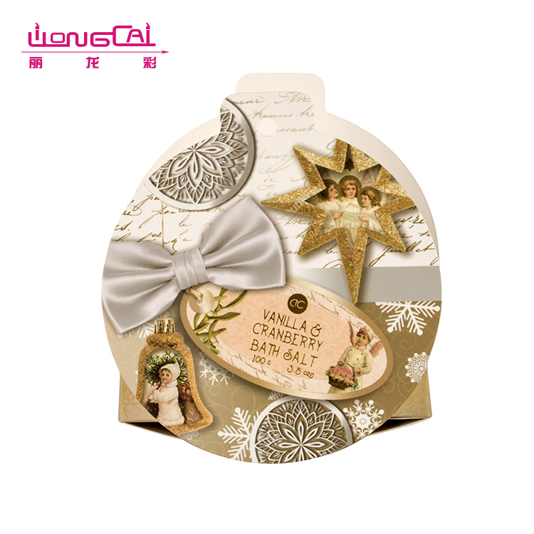 Folding offset printing christmas gift paper candy box for kids