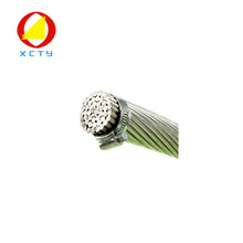 Overhead aaac all aluminum stranded conductor cable for suspended platform