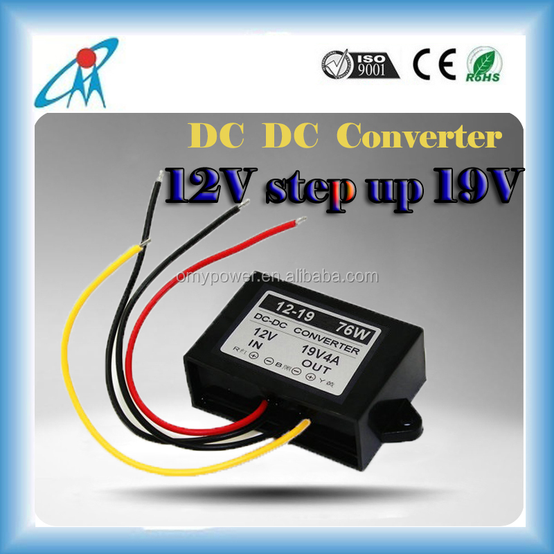 12V to 19V 10A dc converter dc boost transformer laptop computer power supply