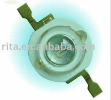 1W high power led,60-80lm,forward current 350ma,forward voltage 3.0-3.8V,green color;Konwin(taiwan) led chip