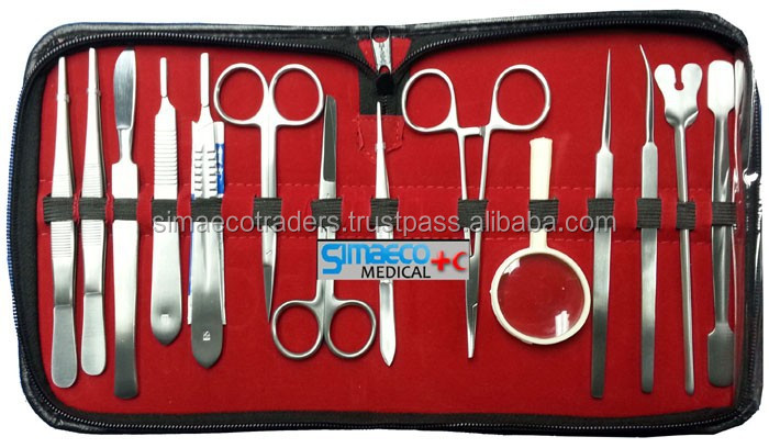 Animals Dissecting kit of 14 PCS