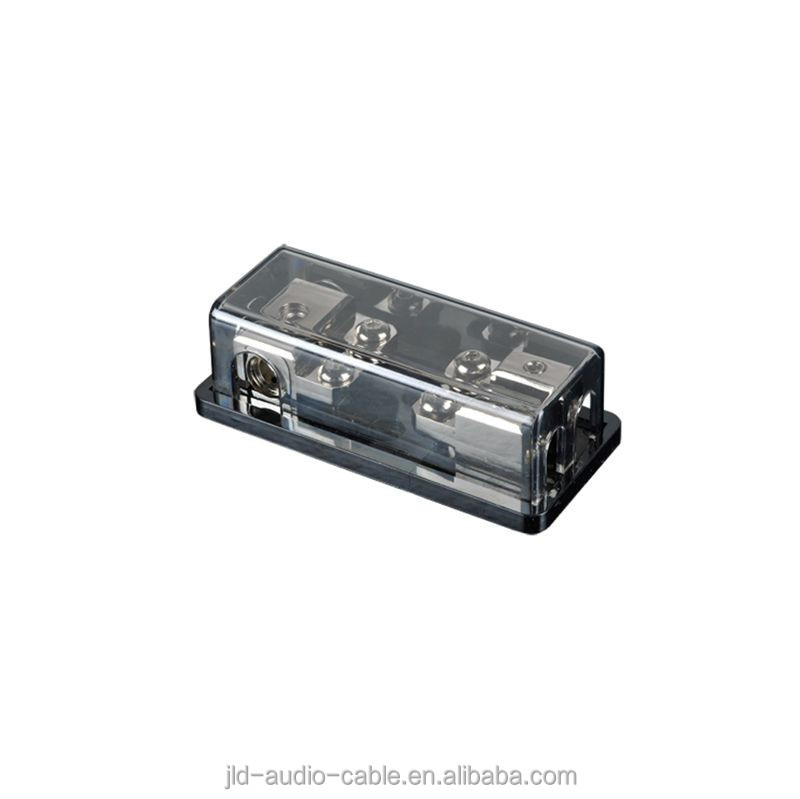 China Low Voltage Digital Car Audio Gold/ nickel plated AFS Fuse Holders from 30-250 amps for reliable connections AFS-06