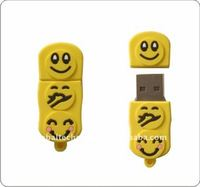 Smiling face usb pen drive 8GB