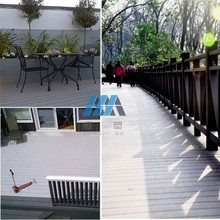 WPC interlocking decking outdoor water proof decking PVC indoor Smooth decking for pool