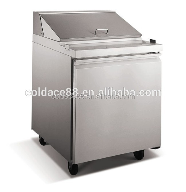China manufacturer commercial salad working refrigerator used in bar with CE certificate