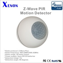 Xenon Z-wave human body PIR sensor Personal Usage Used PIR Motion Sensors Z Wave Smart House Security Alarm System