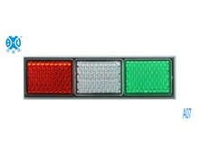 Italian flag reflector,3colors reflector