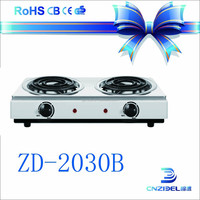 double burner electric infrared cooker induction stove made in china