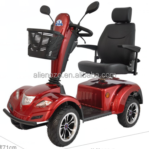 4 wheel electric mobility scooter for disabled and handicapped