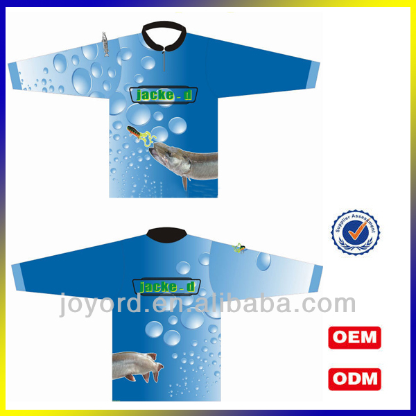 Dye Sublimated Design Fishing Wear