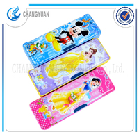 New stationery product best buy cartoon characters magnetic pencil case