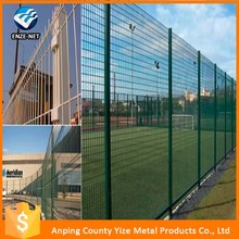 new premium 55mmx200mm pvc coated welded wire mesh fence