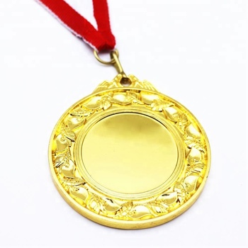 The factory wholesale cheap metal blank sports medal chess
