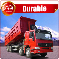 prices for China CNHTC heavy duty 8x4 40ton 12-wheel dump truck