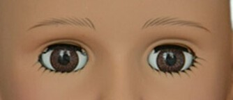 Fix safety eyes for toys/ plastic american girl doll eyes
