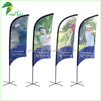 Guangzhou Fashion Beach golf Flag for sale this year