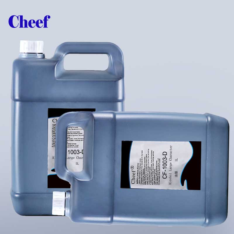 5L Ketone Large character DOD ink CF-1003-D-5L for DOD inkjet printer printing