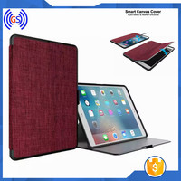 Wholesale Alibaba Canvas Smart Cover For Ipad 2 Flip Cover Case,Smart Case For Ipad 2