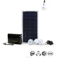 High quality 8w panel rechargeable solar kit for africa rural areas 4pcs 2w led bulb