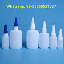 empty HDPE Super Glue Bottles dropper for shoes leather rubber glass textiles