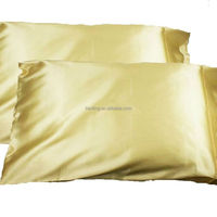 Bright Satin Silk Pillow Covers Pillow Cases