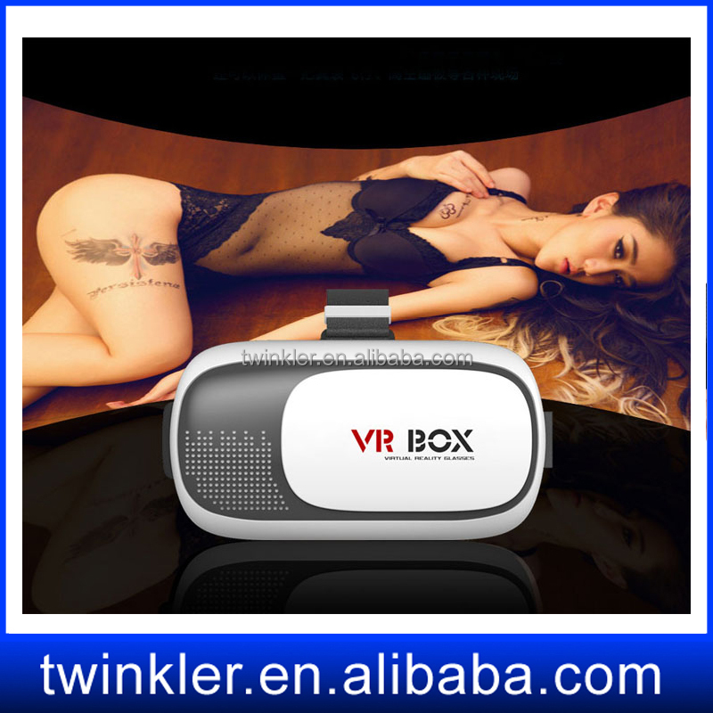 Wholesale virtual reality box Adult open sex videos/xnxx movies/porn picture 3d glasses New style virtual reality glasses pc