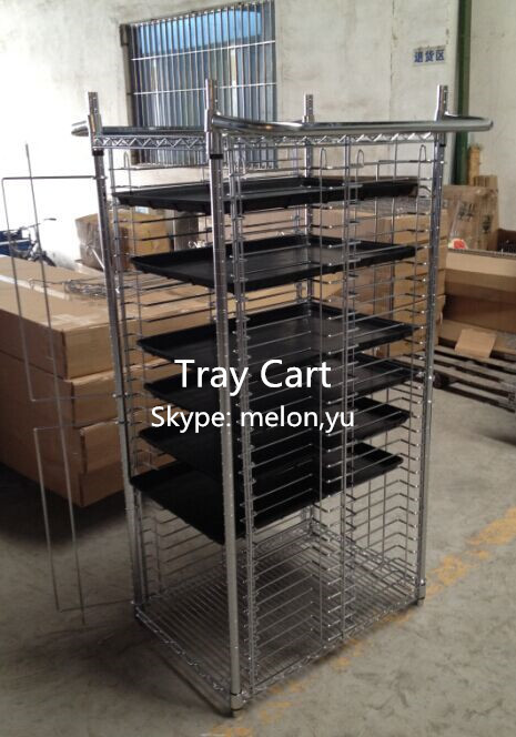 Factory Direct Sales 30 tays Repossessed PCB and ESD Electronic Tray Cart