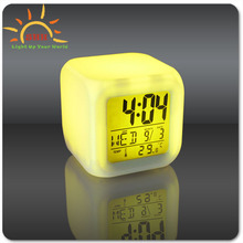 Home decoration Led Alarm Clocks,Led Clocks glowing in the dark,Digital Alarm Clock custom logo is available