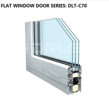 Custom size aluminum channel window and door frame profile