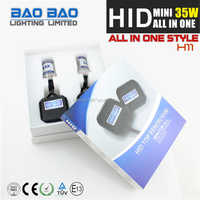 led motorcycle accessory HID MINI ALL IN ONE ballast, osram hid xenon kit h4, slim MINI ALL IN ONE ballast car hid kits MINI