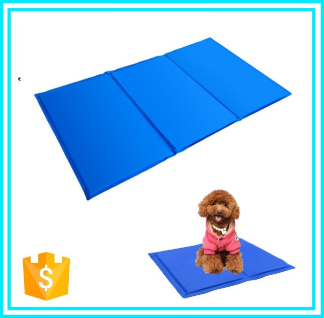 Dog Comfort Non-Toxic Cold Mat Pet Dogs Cats Cooling Gel Pad