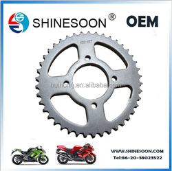 New design motorcycle sprocket , Low price chain sprocket CG125