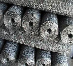lowest price 1/4 inch galvanized hexagonal chicken wire mesh