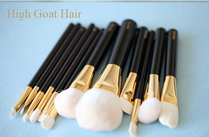 12pcs synthetic hair hotsale makeup brushes