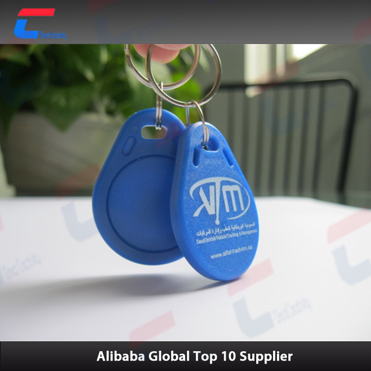 ABS NTAG 213/215/216 smart rfid key fob token NFC tag for cell phone NFC