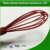 2018 New Design Soft &Easy cleaning &Non-stick Silicone Egg Whisk