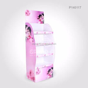 Custom Printed Tray Corrugated Display Stand for Body Wash