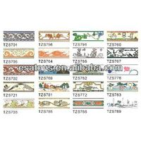 Hot selling border tile with factory price(TZS701-TZS789)