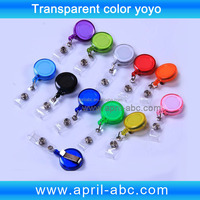 Transparent Colors Card accessary yoyo clip
