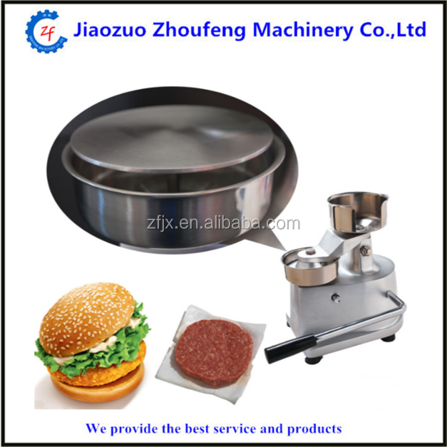 Used Hamburger Patty Making Machine Burger Press Machine Price(WhatsApp:008613782839261)