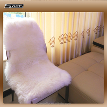 2016 Modern Design Shaggy Australian White Long Sheep Skin