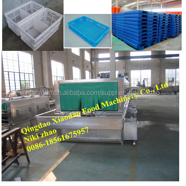 Palettes en plastique caisses machine laver machine - Laver rideau de douche plastique machine ...