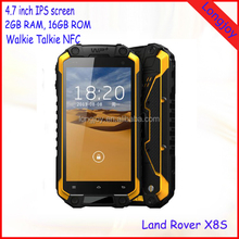 Best Quality Best Price 4.7 Inch Quad Core 3G Dual SIM Android Rugged Phone With Walkie Talkie NFC GPS