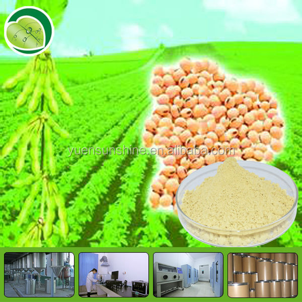 Womens Cardio And Menopausal Support Supplement Soybean Extract /soybean P.E powder / soy isoflavones 10%,20%,40%,80%