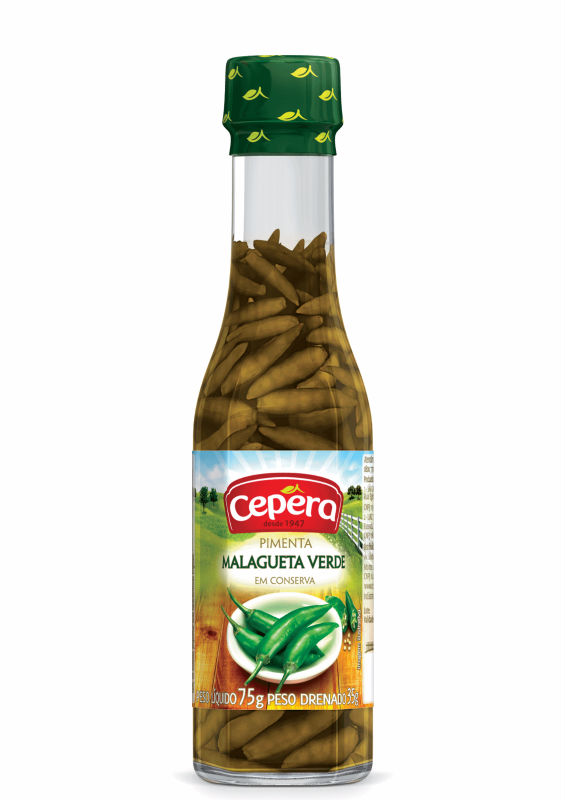 Green Malagueta Pepper 35g