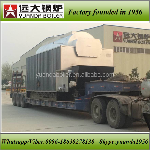 Chain grate/flake type chain grate steam coal boilers