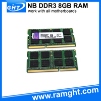 China laptop price in India full compatible 8gb ddr3 ram memory