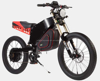 Super power 72V 2000W electric motor cycle with lithium ion battery