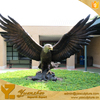 Modern home decoration bronze eagle statue outdoor