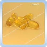 High quality omega 3 fish oil softgel capsule